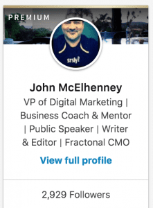 John McElhenney on LinkedIn