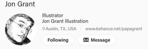 jon grant illustration